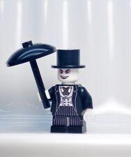 A1237 Lego CUSTOM PRINTED 1989 Tim Burton BATMAN MOVIE PENGUIN MINIFIG CATWOMAN