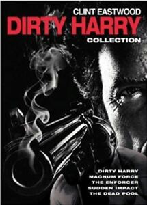 5-Film-Collection-Dirty-Harry-R4-DVD-New-Dead-Pool-Enforcer-Clint-Eastwood