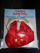 Angelina Ballerina FairyTales outfits BNIP #22 Snow White +Red Rose Free P&P 2UK