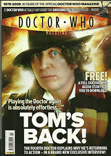 RARE Back Issue - DOCTOR WHO MAGAZINE #411 - TOM BAKER Cover - 100's Listed