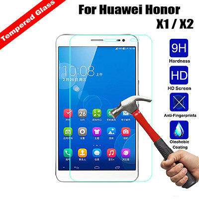 9H Premium Tempered Glass Screen Protector For Huawei Honor Mediapad T1 M1 M2