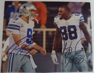 Details About Dez Bryant 88 Tony Romo 9 Dallas Cowboys Autographed Photograph Autograph