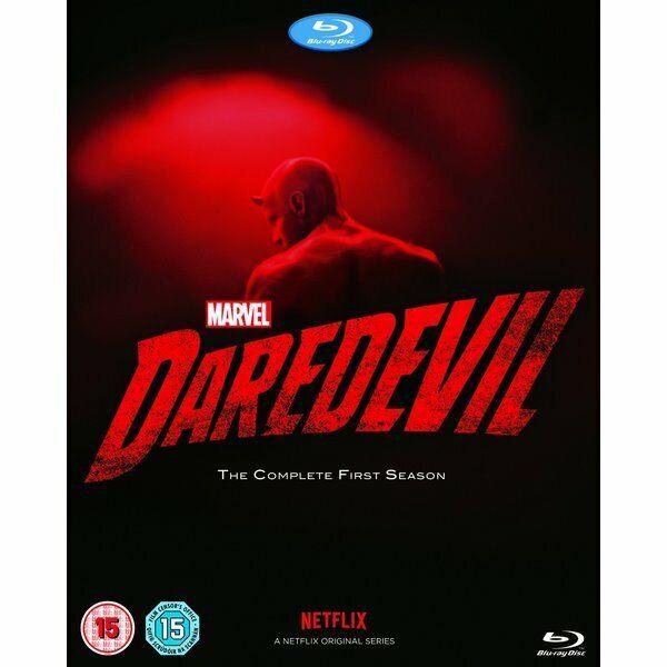Blu-ray - Marvel's Daredevil - Walt Disney - Charlie Cox, Deborah Ann Woll, Elde