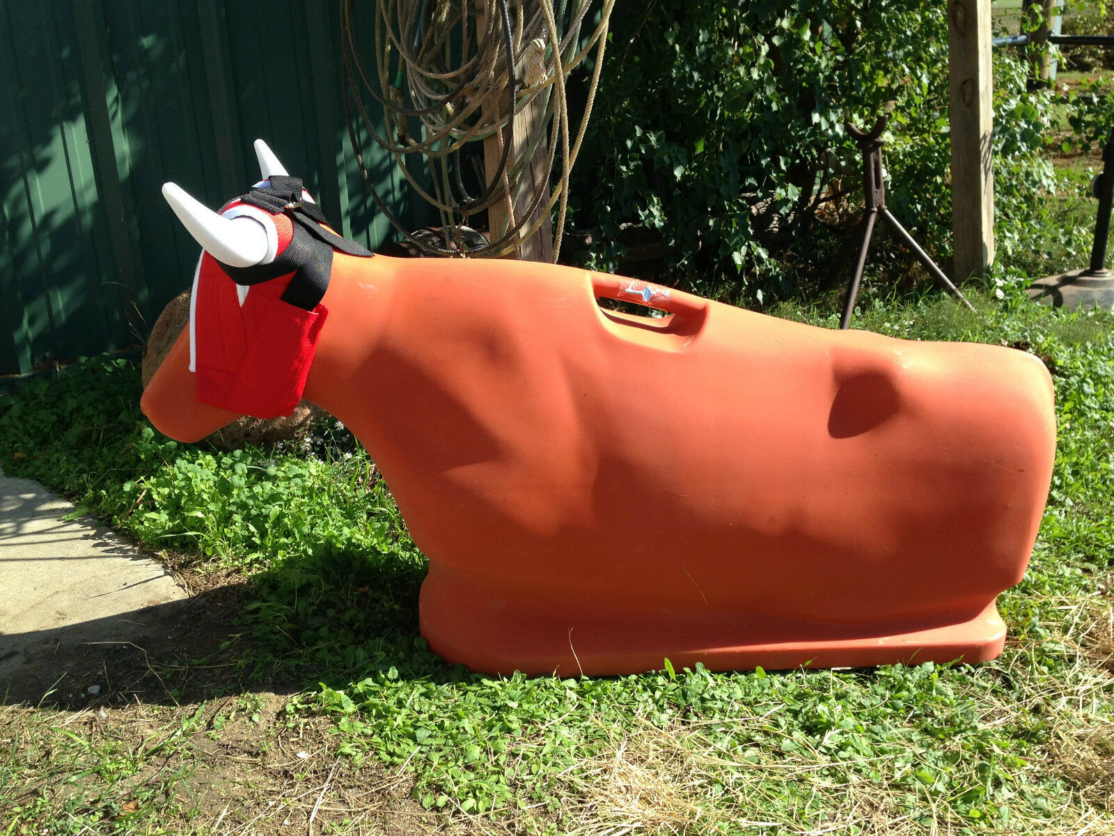orange Something Steer ROPING DUMMY SALE PRICE