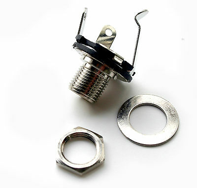R C Guitars Guitar jack socket 1/4 inch standard mono NEW