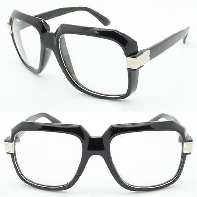 New CLASSIC VINTAGE RETRO Style Clear Lens NERD EYE GLASSES Thick Tortoise Frame