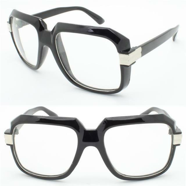 be6ab53be3 Men s Women Vintage Retro Style Clear Lens Eye Glasses Thick Black Fashion  Frame for sale online