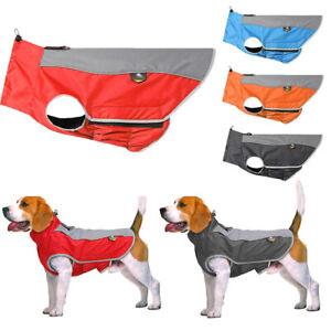 Dog-Waterproof-Rain-Coat-Outdoor-Fleece-Warm-Jacket-Vest-Pet-Puppy-Clothes-3XL