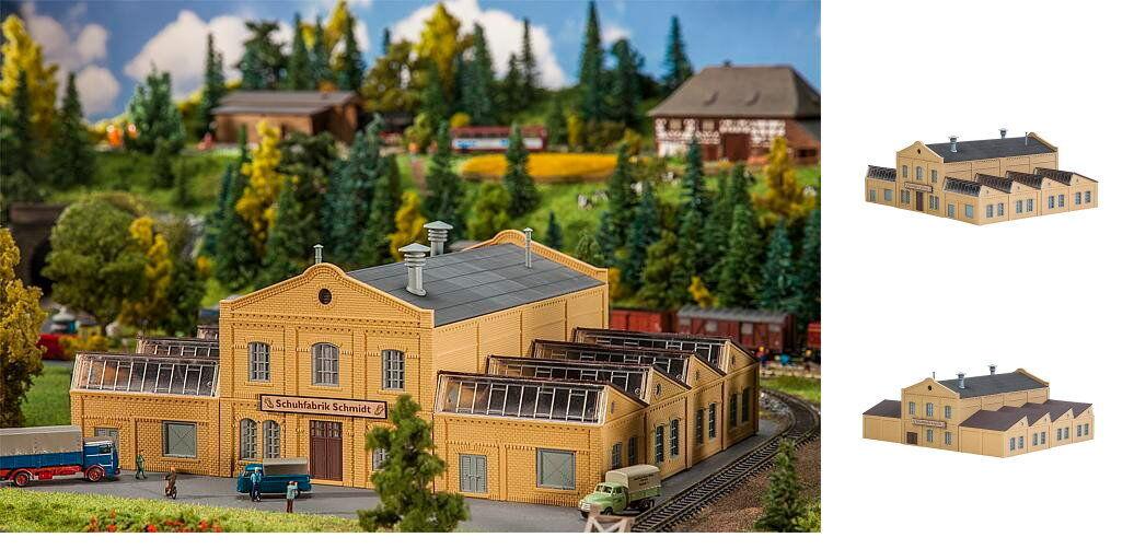Faller-traccia N 222220 FABBRICA DI SCARPE Schmidt Kit costruzione NUOVO conf.