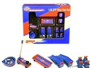LAST-ONE-Licensed-STP-Garage-and-Shop-Tool-Set-Diecast-Display-18939-1-18-GMP