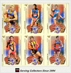2003 Select XL BRISBANE Team Set