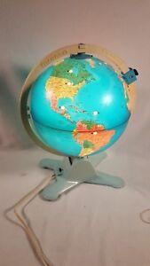 1988-Fisher-Price-Illuminated-Light-Up-World-Globe-Educational-Viewfinder-Works