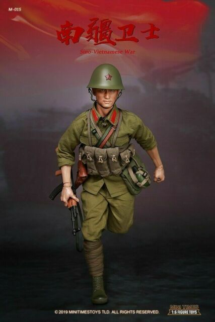 NEW PRODUCT: MINI TIMES TOYS: 1/6 PLA Soldier (Sino