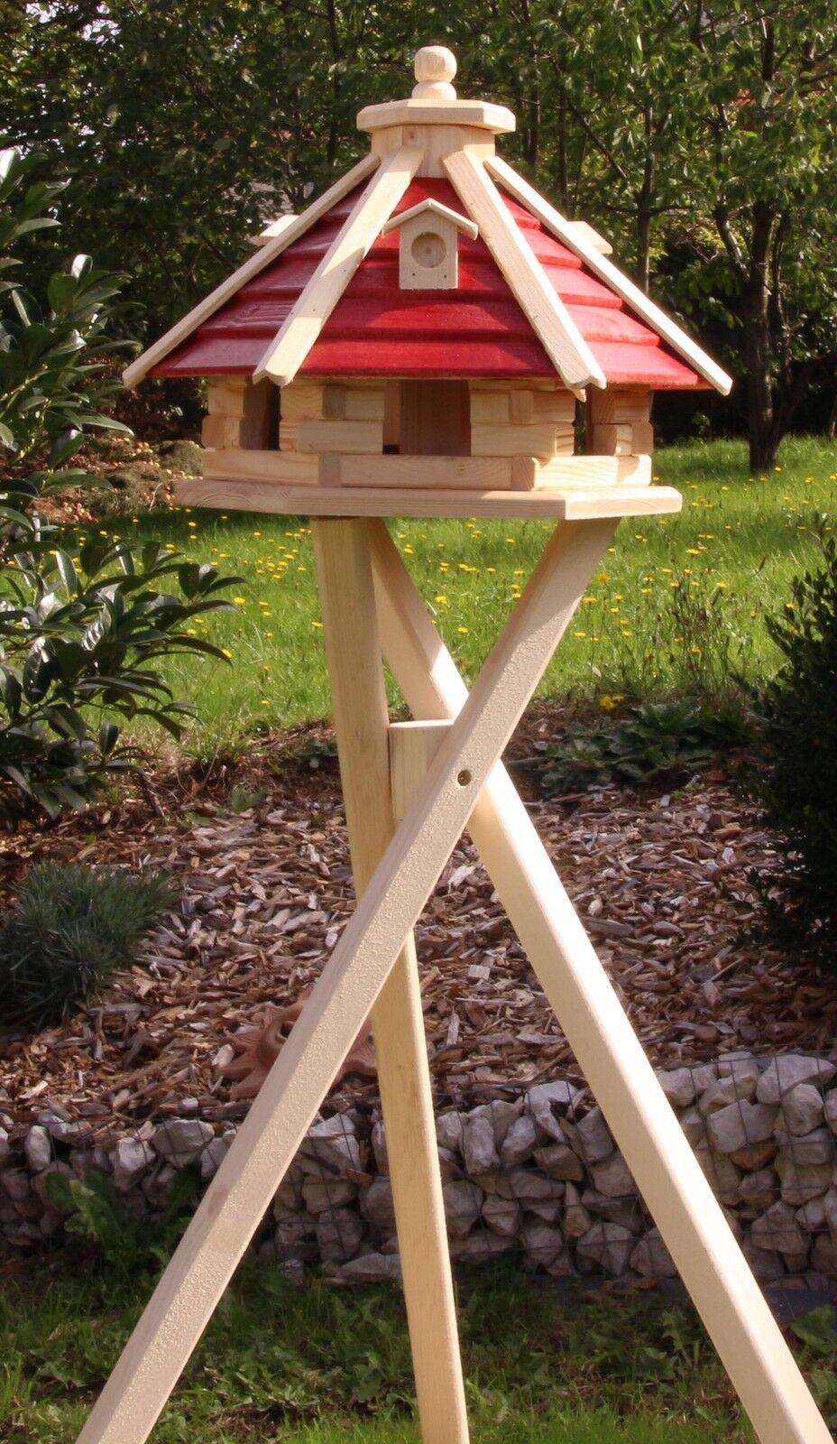 Bird House Bird Casas Y Con Soporte Y Iluminación Solar