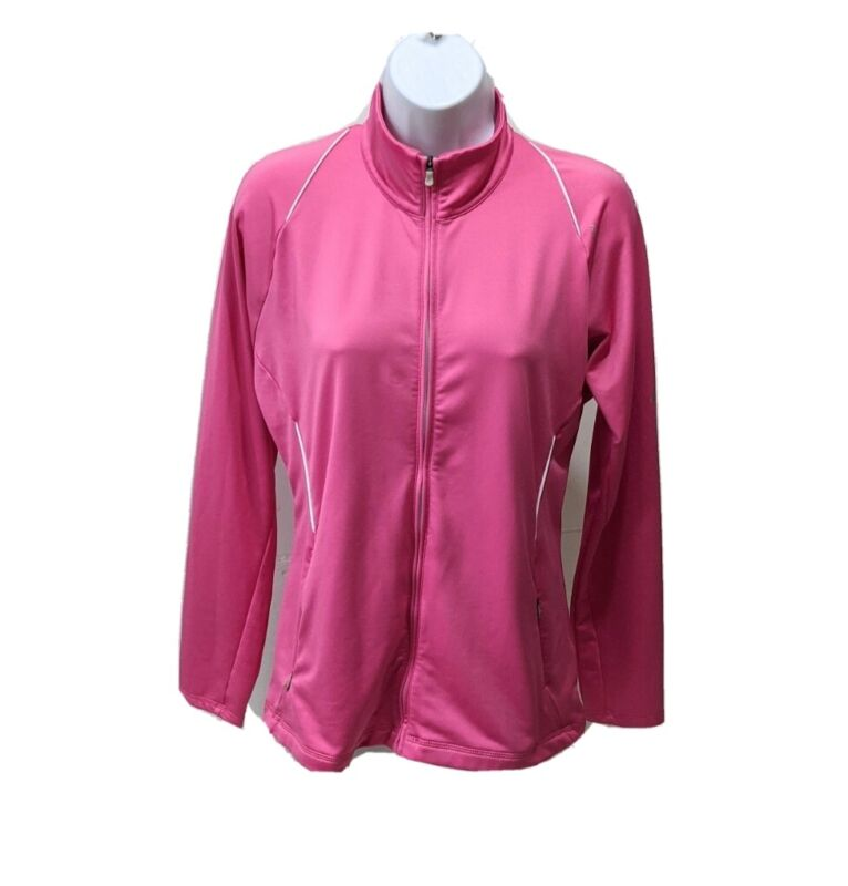 Obedient Adidas Formotion Climawarm Track Jacket Womens M Full Zip Pink Long Sleeve Athle Orders Are Welcome.