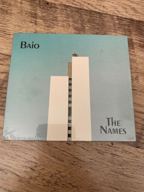 Baio - The Names [New & Sealed] Digipack CD