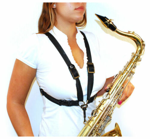 BG S41CMSH Women/'s Alto//Tenor//Baritone Sax Comfort Harness with Metal Snap Hook