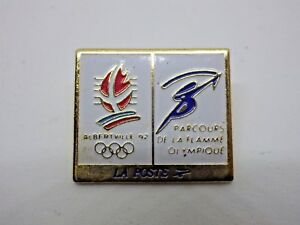 Pin-039-s-Vintage-Year-90s-Albertville-92-La-Post-Lot-R017