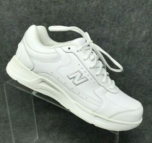 New-Balance-576-White-Leather-Comfort-Walking-Fitness-Sneakers-Shoes-Sz-9B-NEW