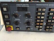 USED MONARCH CORTLAND M10547-2 OPERATOR PANEL 4 VMC,A16B-2200-0660/05A CH