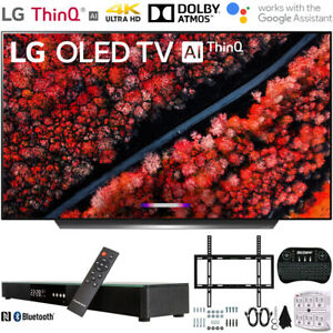 "LG OLED55C9 55"" C9 4K HDR Smart OLED TV w/ AI ThinQ (2019) + 31"" Soundbar Bundle"