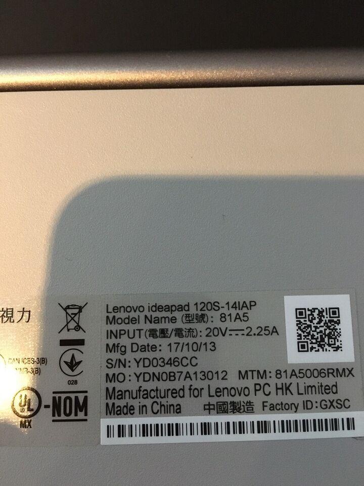 Lenovo 120S-14IAP. 81A5, God