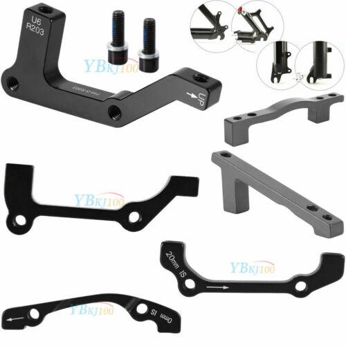 For Bike Disc Brake Caliper Mount Adapter Front 160//180//203mm Rear 140//160//203~