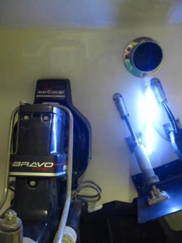 TRIM TAB LED Transom Light Bar WHITE 12 volt Wakeboard Speed Boat Underwater 2