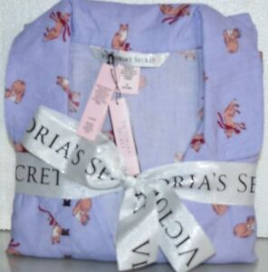 31d69cd4e New VICTORIA S SECRET Dreamer Flannel Pajama PURPLE FOX Lilac ...