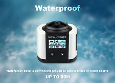 4K Ultra HD WiFi VR 360° 16MP Panoramic Digital 3D Camera DV Waterproof