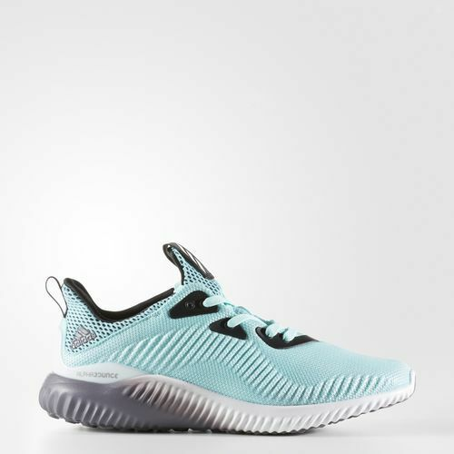 Adidas Women's Alphabounce Shoes NEW AUTHENTIC Clear Aqua B39429