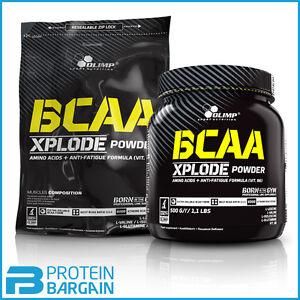 Olimp BCAA Xplode Powder Amino Acids + Anti Fatigue Formula 500g/1kg