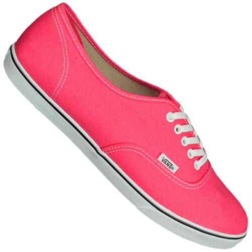 schuhe Décontractées Lo Authentic Chaussures Vans Baskets Stoff Femmes Pro YpnRw