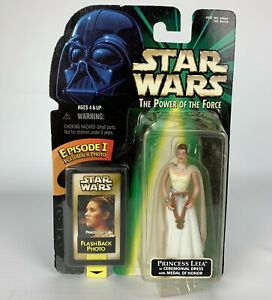 Star Wars Kenner 1998 Princess Leia Flashback Photo Action Figure Hasbro