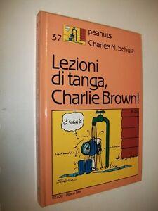 CHARLES-M-SCHULZ-PEANUTS-N-37-LEZIONI-DI-TANGA-CHARLIE-BROWN-MILANO-LIBRI-1988