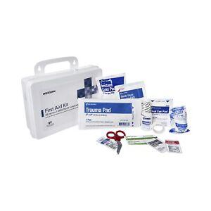 McKesson 25 Person Wall Mount Plastic Case First Aid Kit 6 per Case
