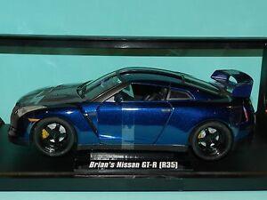 Jada-1-18-Fast-amp-Furious-Brian-039-s-Nissan-GT-R-R35-Furious-7-MiB