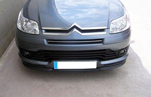 Citroen C4 L Front Bumper Cup Chin Spoiler Lip Sport Valance Wing Trim Splitter