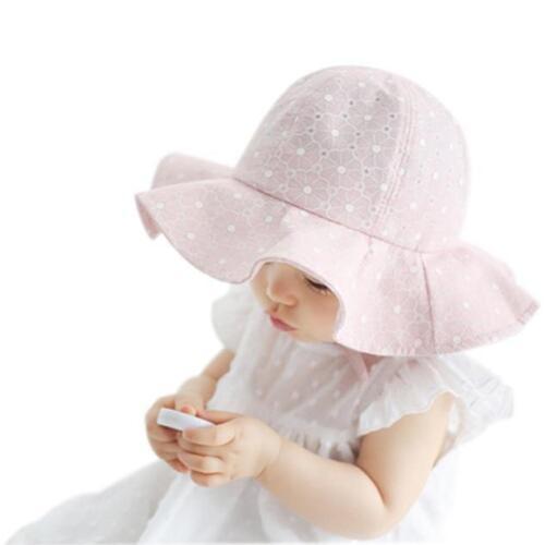 Toddler Infant Kids Girls Boys Sun Cap Summer Outdoor Sun Hat Beach Cotton Hat