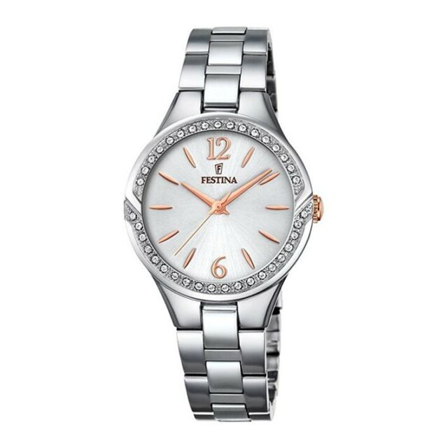 Hubert Hudson Gracias Perímetro  Festina reloj mujer Swarovski Mademoiselle F20246/1 | Compra online en eBay