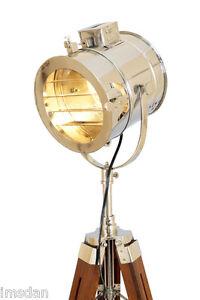 Nautical Navy Signal Tripod Floor Lamp Hand Made Replica
