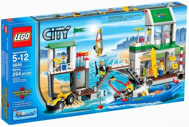 BRAND NEW Lego City Harbor Marina 4644