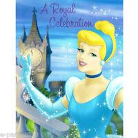 Cinderella Stardust Invitations (8) Disney Princess Birthday Party Supplies