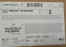Kci Vac Simplace Ex Dressing Medium M8275045 New Sealed Box 5