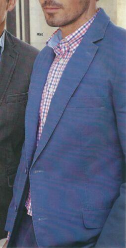 Chaqueta chaqueta chaqueta de algodón azul Gr 50