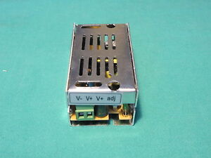 alimentatore trasformatore strisce striscia led 12V 1A 12W 12 watt switching