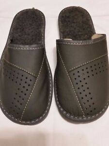 Herren-Schuhe-Hausschuhe-Pantoffeln-Huettenschuhe-Groesse-41-42-43-44-45