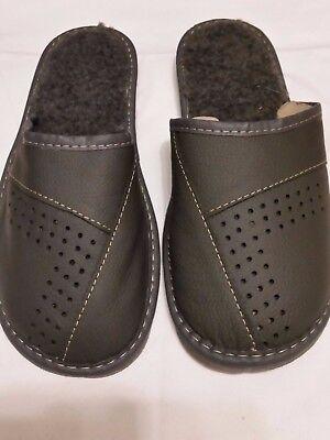 Herren Schuhe, Hausschuhe, Pantoffeln, Hüttenschuhe Größe:41,42,43,44,45