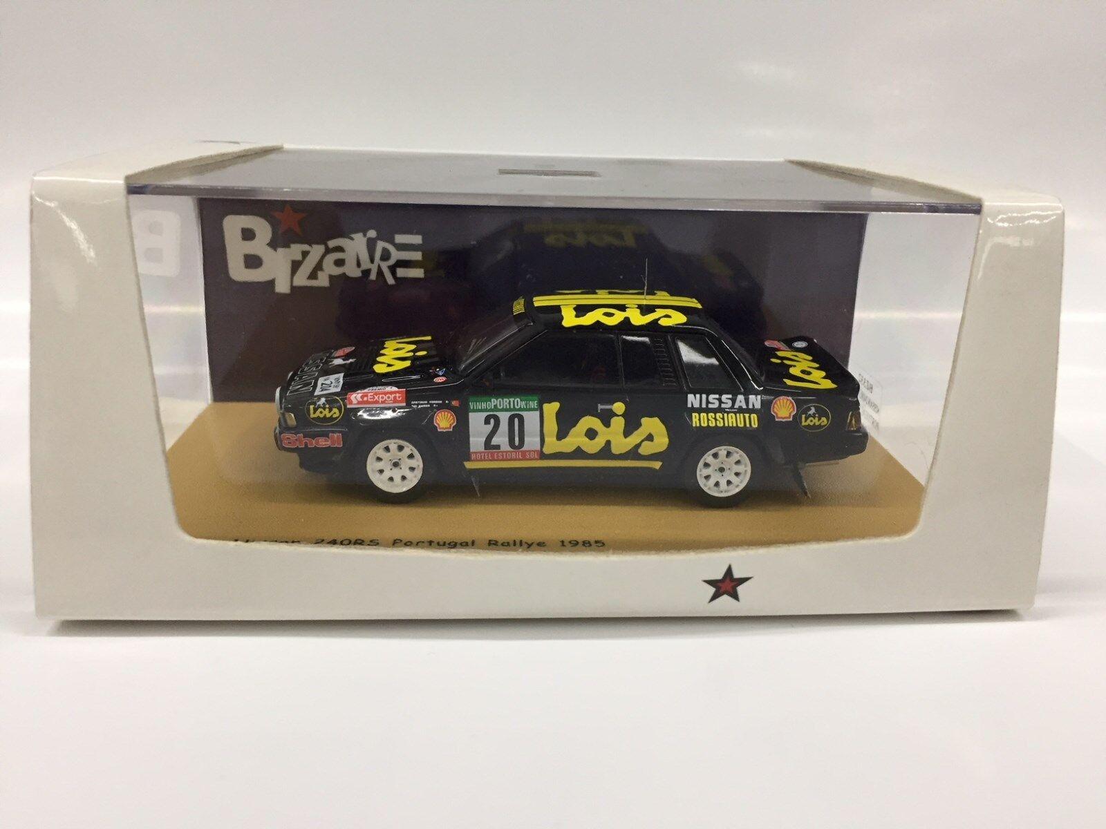 1 43 BIZARRE BZ332 NISSAN 240 RS  LOIS  PORTUGAL RALLYE 1985