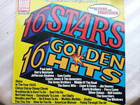 "12"" 16 Stars - 16 Golden Hits"